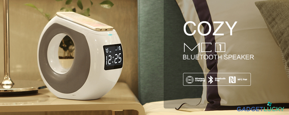 Nillkin COZY MC1 Wireless Charging Bluetooth Speaker